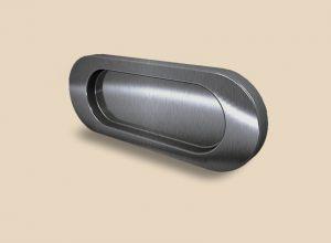Ручка серебро глянец овальная Италия Подольск