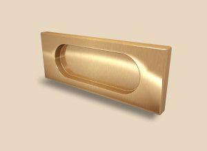 Ручка Золото глянец прямоугольная Италия Подольск
