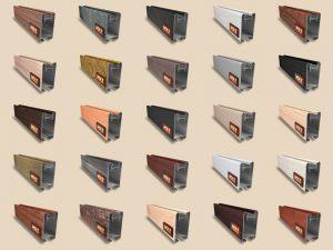 """Алюминиевый ламинированный профиль """"HOLZ"""" для шкафов купе и межкомнатных перегородок Более 100 цветов Подольск"""