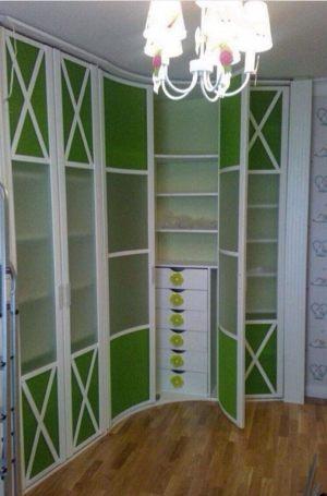 Распашная радиусная дверь Подольск