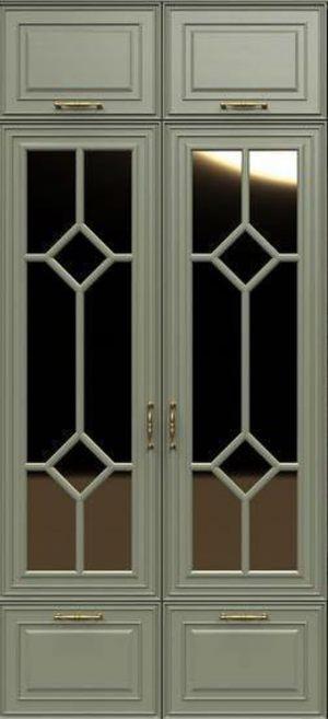Фасад с фигурной филенкой эмаль Подольск