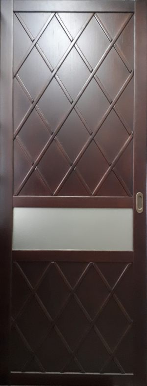 Вставка в дверь с фигурной филенкой Подольск