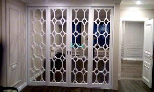 Двери с фигурной филенкой, эмаль Подольск
